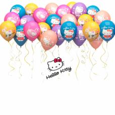 Гелиевые шарики Hello Kitty