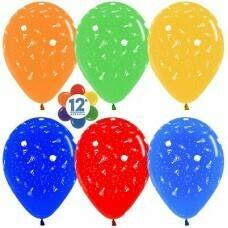Гелиевые шары с рисунком «Ассорти с рисунком»