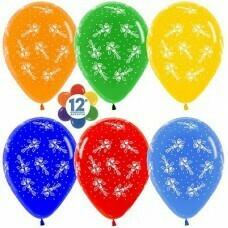 Гелиевые шары с рисунком «Букеты цветов»