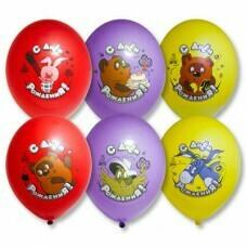 Гелиевые шары с рисунком «Вини Пух»