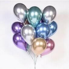Воздушные шары «Металлизированные Хром»