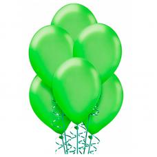 Воздушные шары Зеленый пастель