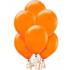 Воздушные шары Оранжевый пастель