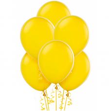 Воздушный шар Желтый Пастель