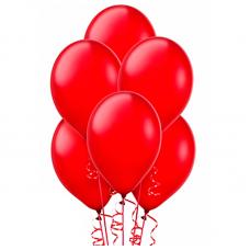 Воздушный шар красный пастель