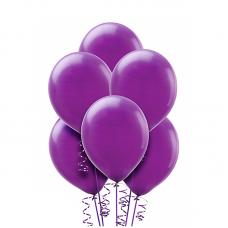 Воздушный шарик Фиолетовый, металлик.