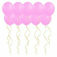 Шары под потолок Розовые «Пастель»