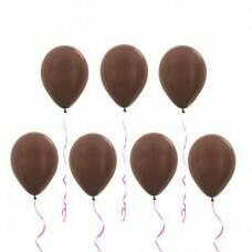 Шары под потолок «Шоколадный» Металлик