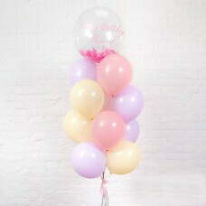 Композиция из воздушных шаров «Happy Birthday Princess» №12