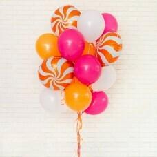Композиция из воздушных шаров «Карамельная радость-1» №74