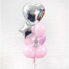 Композиция из воздушных шаров «Лоск» №29