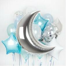 Композиция из воздушных шаров «Полумесяц» №8