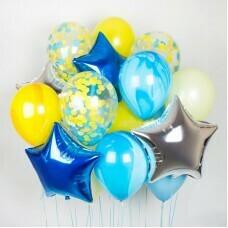 Композиция из воздушных шаров «Яркое настроение» №15