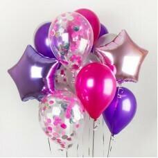 Композиция из воздушных шаров «Стремление» №19