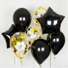 Композиция из воздушных шаров «Строгость» №25