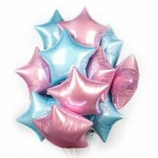 Композиция из воздушных шаров «Звёзды для фотосессии» №180