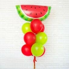 Композиция из воздушных шаров «Арбузное настроение» №77