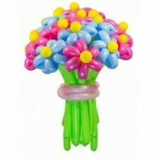 Букет цветов из шариков «Хорошее настроение»