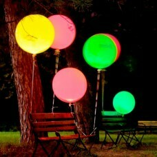 Светящийся огромный шар-сфера