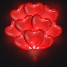 Светящиеся сердца