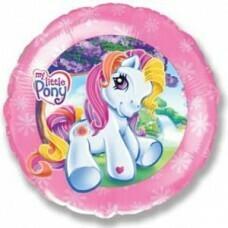Воздушный шар (18''/46 см) Моя маленькая пони (Pony)