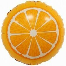 Круг из фольги «Апельсин» (46см.)