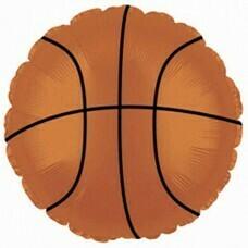 Круг из фольги «Баскетбольный мяч» (46см.)
