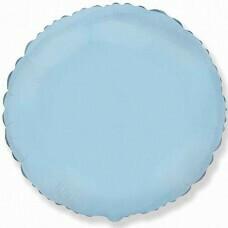 Круг из фольги «Голубой» (46см.)