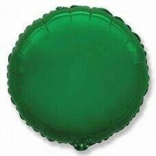 Круг из фольги «Зелёный» (46см.)