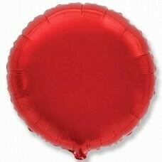 Круг из фольги «Красный» (46см.)