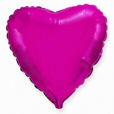 Фольгированное сердце «Фиолетовый» (81см.)