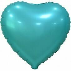 Фольгированное сердце «Тиффани» (46см.)