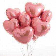 Композиция из воздушных шаров «Розовый Блеск» 9 шт. №182
