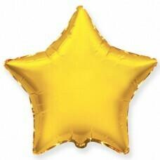 Фольгированная звезда «Золотой» (81см.)