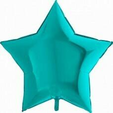 Фольгированная звезда «Тиффани» (46см)