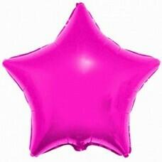Фольгированная звезда «Пурпурный» (46см.)