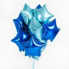 Композиция из воздушных шаров «Звёзды для фотосессии-5» №171