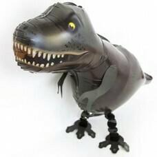 Шар (28''/71 см) Ходячая Фигура, Динозавр Тираннозавр