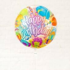 Шар Bubble «Happy Burthday №3»
