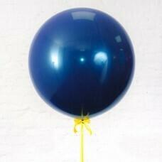 Шар гигант «№18» Синий