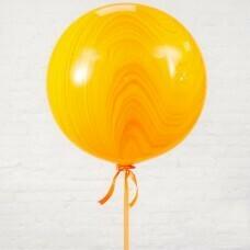 Шар гигант «№2» Оранжевый 61см