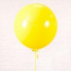 Шар гигант «№7» Жёлтый
