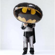 Шар Фигура Бэтмен эмблема 89*66см