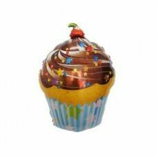 Фигура из Фольги «Шоколадный кекс» (71см.)