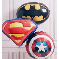 Композиция N300 Бэтмен, Супермен, Капитан Америка