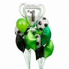 Композиция из воздушных шаров «Чемпион» №32