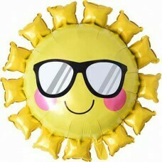 Солнце в солнечных очках, Желтый Шар (31»/79 см)