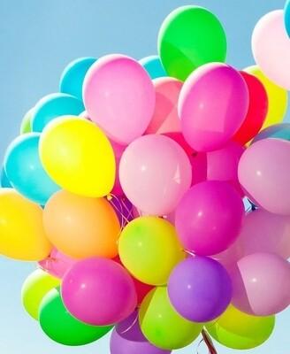 Акция! Разноцветные шары 25 штук