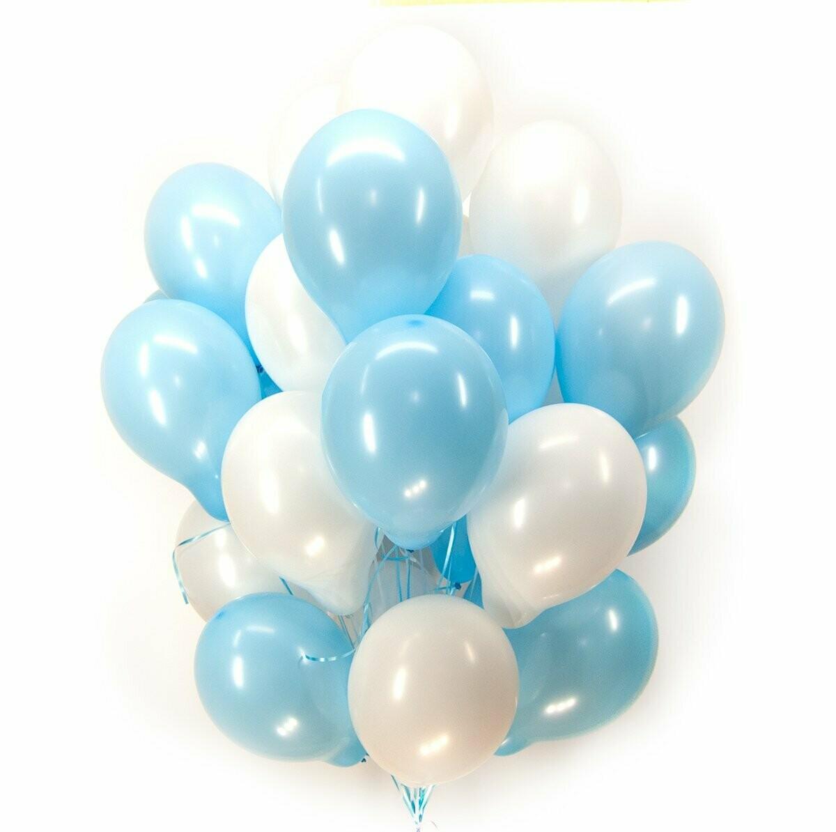 Гелиевые шары  (для мальчика) - цена за шт