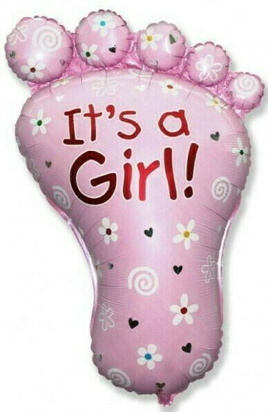 Фигура ножка  для девочки